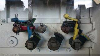 Blockuntersatz in mechanischen Stellwerk