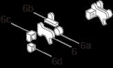 Oznaczenia części w obrębie podzespołu