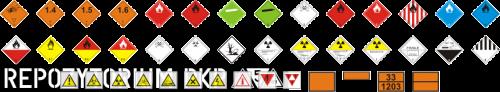 Tablice i naklejki ostrzegawcze