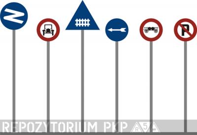 Historyczne znaki drogowe - Polska 1909-1939