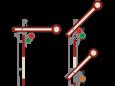 Semafor kształtowy wąski