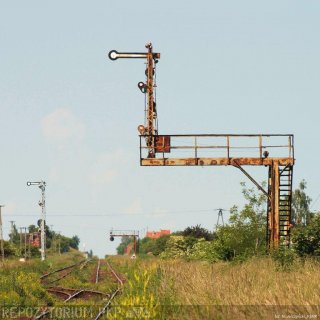Pomosty sygnałowe na stacji Wschowa
