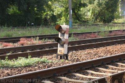 Toruń Wschodni, semafor dla toru lewego