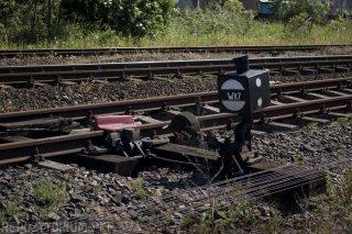 Wykolejnica, stacja Pabianice