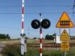 Domaniewice, przejazd kolejowy