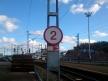 Przystanek Turku satama, ograniczenie prędkości
