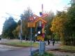 Przystanek Turku satama, przejazd kolejowy