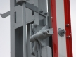 Semafor kształtowy wąski - dolne ramię, detal
