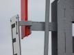 Semafor kształtowy wąski - tabliczka z oznaczeniem