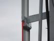 Semafor kształtowy wąski - mocowanie blach osłonowych