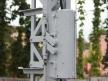 Semafor kratowy dwuramienny, sprzęgło sygnałowe