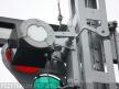 Semafor kratowy dwuramienny, sanki latarniowe i latarnia górnego ramienia