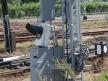Semafor kratowy dwuramienny, napęd końcowy i winda latarniowa