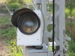 Semafor kratowy dwuramienny, sygnał zastępczy