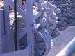 Semafor kratowy dwuramienny, winda latarniowa