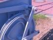 Semafor kratowy dwuramienny, wnętrze napędu końcowego