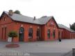 Budynek dworca na stacji Sieradz