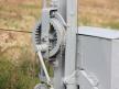 Kształtowa tarcza ostrzegawcza dwustawna, winda sygnałowa