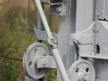 Kształtowa tarcza ostrzegawcza dwustawna, korba windy sygnałowej
