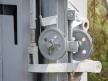 Kształtowa tarcza ostrzegawcza dwustawna, kółka zwrotne windy sygnałowej
