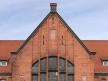 Toruń Wschodni, detal fasady dworca