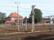 Toruń Wschodni, semafor i zabudowania parowozowni