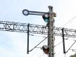 Toruń Wschodni, semafor wjazdowy i tarcza ostrzegawcza
