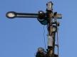 Toruń Wschodni, oświetlenie elektryczne semafora kształtowego